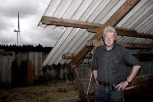 Kaj Bank Olesen at mink farm - courtesy of AOH.Dk