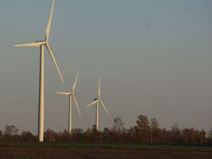 Wind energy deal inked between NPCA and NRWC file photo The Niagara Region Wind Corporation has inked a deal with the Niagara Peninsula Conservation Authority which will permit them access to a section of the Gord Harry Trail for maintenance of two nearby turbines.