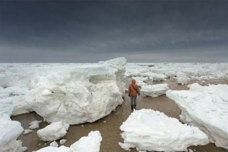 Global warming in action at Cape Cod